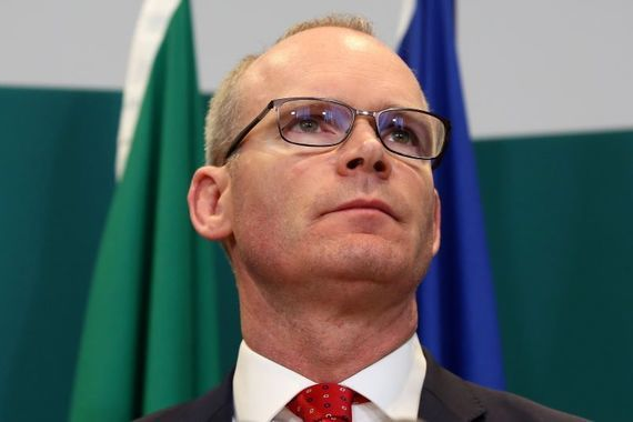 Minister for Foreign Affairs Simon Coveney.