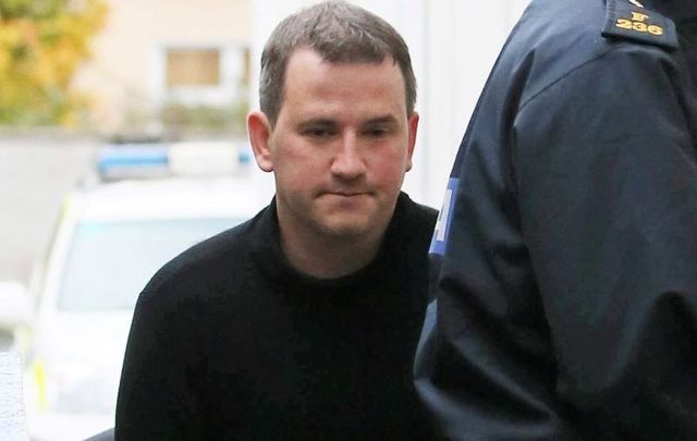 Graham Dwyer leaves Dun Laoghaire Courthouse in October 2013 after being charged with the murder of Elaine O\'Hara.