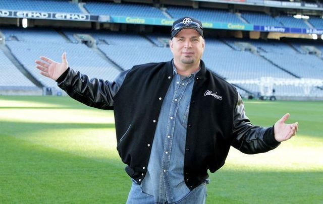 January 20, 2014; Garth Brooks pictured at Dublin\'s Croke Park at the launch of \'the Garth Brooks Comeback Special Event.\' The event ultimately did not go ahead.