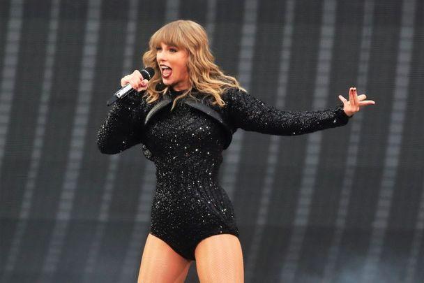 Taylor Swift playing Dublin\'s Croke Park, back in 2018.