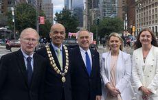 Black and Green under spotlight at first transatlantic confab in New York since Covid hit