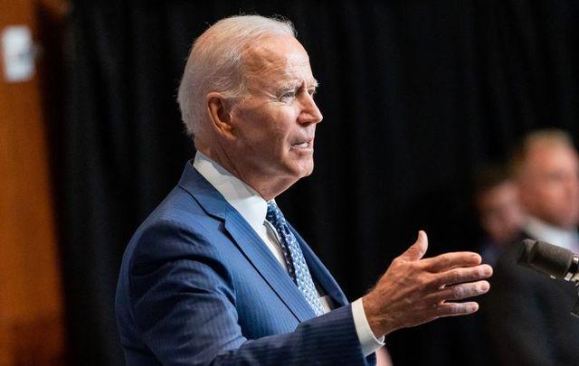 July 27, 2021: President Joe Biden delivers remarks at the ODNI Headquarters in Tysons Corner, Virginia.