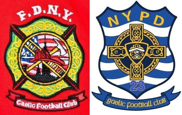 The Gaelic football teams of the FDNY and NYPD will face off again this Saturday, September 18 in Rockland.