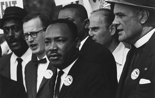 Martin Luther King Jr. said that he dreamt that all people would be judged by the content of their character rather than the color of their skin in a famous speech in Washington in 1963.