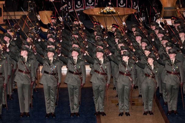 January 26, 2018: Commissioning Ceremony of Irish Defence Forces Officers