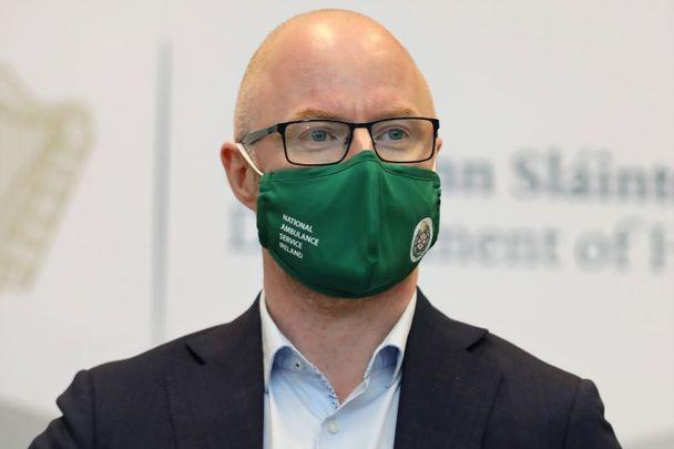 Irish Health Minister Stephen Donnelly.