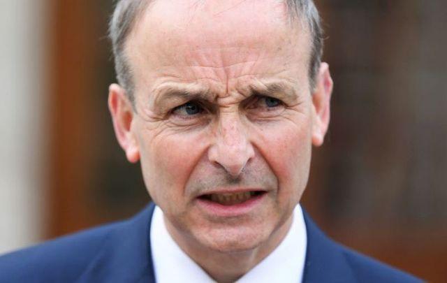 Taoiseach and Fianna Fáil leader Micheál Martin.