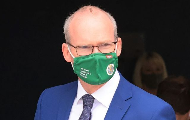 September 13, 2021: Ireland\'s Minister for Foreign Affairs Simon Coveney. Taoiseach Micheál Martin says Coveney will prepare a memo on a family of Irish citizens stuck in Kabul over the next week.