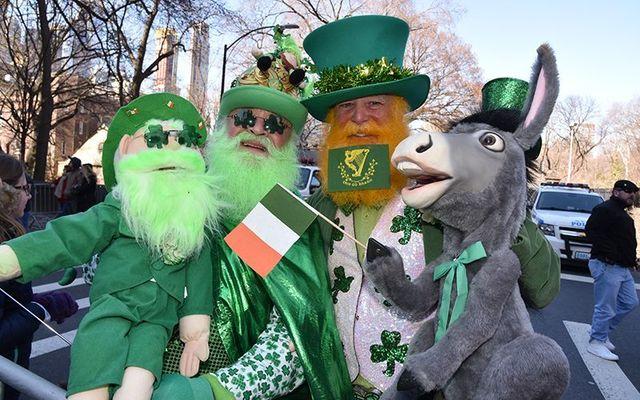 Enjoy the New York St. Patrick\'s Day Parade!