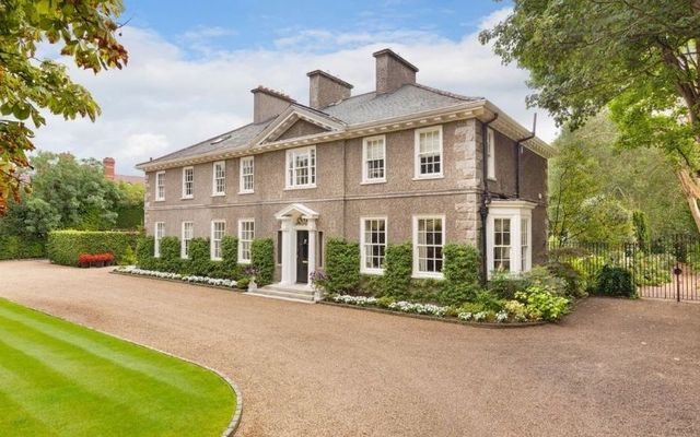 Number 73 Ailesbury Road is thought to be the finest property on Ireland\'s most upmarket street.