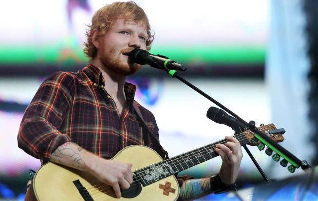 July 24, 2015: Ed Sheeran performing at Croke Park in Dublin, Ireland.