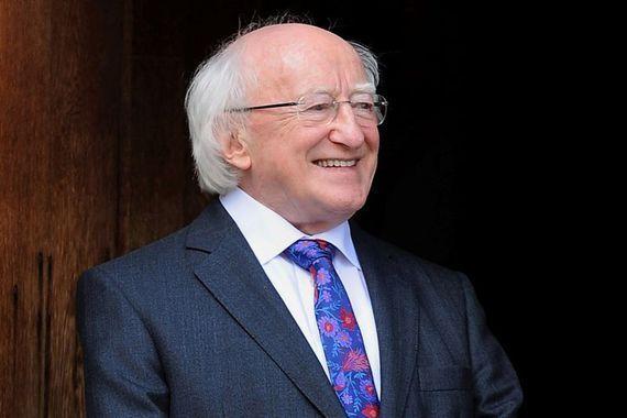 President of Ireland Michael D. Higgins.