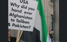 Ireland's Afghan community protests against Taliban takeover