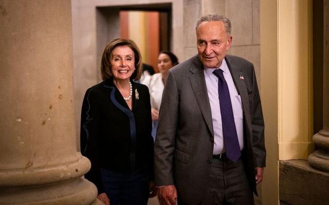 House Speaker Nancy Pelosi and Senate Majority Leader Chuck Schumer.