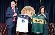 WATCH: Taoiseach meets New York's new Irish American Governor in NYC