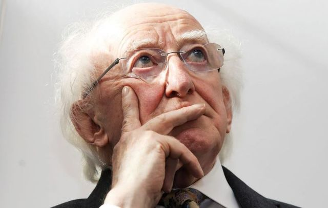 President of Ireland Michael D. Higgins, pictured here in 2019.
