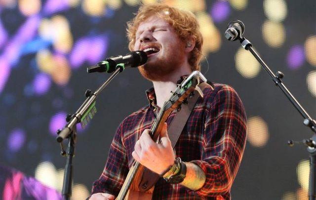 July 24, 2015: Ed Sheeran performs at Dublin\'s Croke Park.