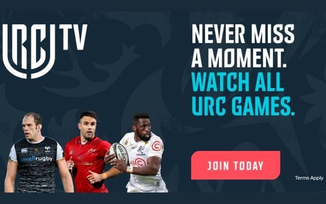 URC TV is the only destination for fans all over the world to watch URC games live and on-demand.