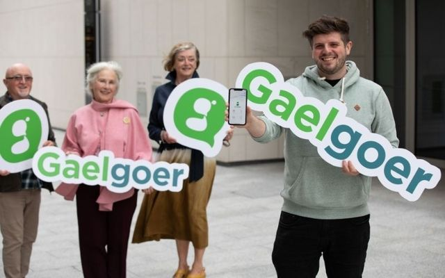 GaelGoer is a new free app that aims to connect Irish speakers of all levels