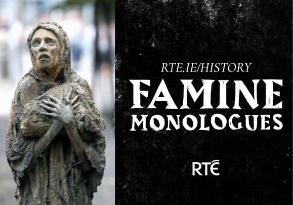 Famine Monologues is a new drama history podcast