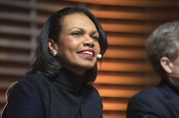 The Honorable Condoleezza Rice, 66th Secretary of State of the United States.