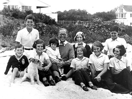 The Kennedy family at Hyannis Port, 1931. What are the origins of your family's name? A comprehensive listing of the main Irish surnames, letters H - M.