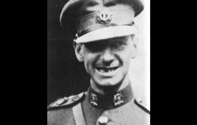 Irish aviation pioneer James Fitzmaurice.