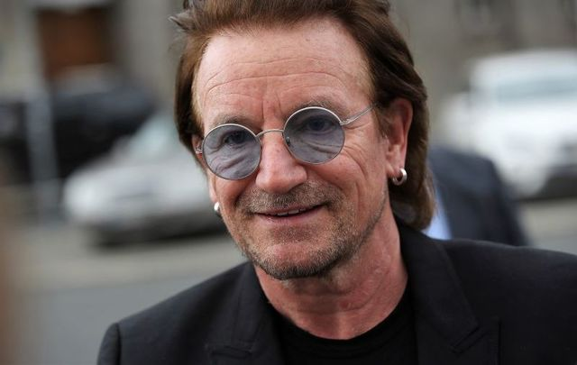 Bono, aka Paul Hewson, in 2018.
