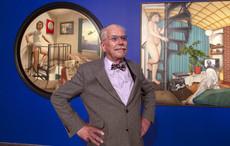 Celebrating the incredible Irish artist Robert Ballagh on his 77th birthday