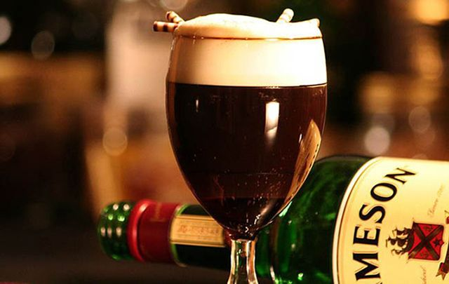 Irish coffee is one of the most iconic Irish drinks, but there are many non-alcoholic favorites too!