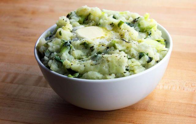 The Irish potato dish colcannon is delicious, hearty, and easy to make.
