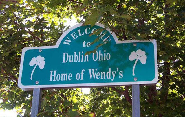 Irish place names in the US: Dublin isn't just a city in Ireland.