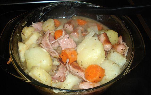 Comfort in a bowl! A delicious Dublin coddle recipe.