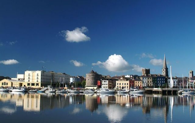Reginald\'s Tower in Waterford City