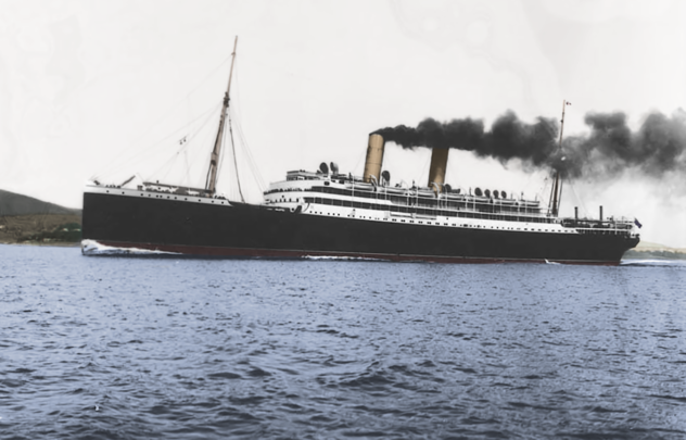 The Empress of Ireland ocean liner.