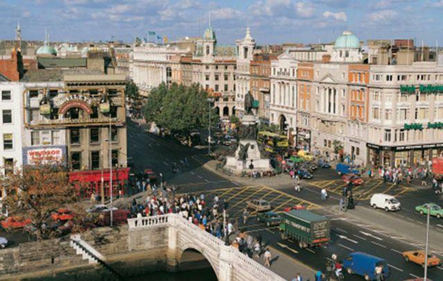 Dublin's O'Connell Street.
