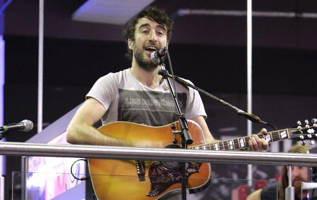 Daniel O\'Reilly, frontman of the Irish band, The Coronas.
