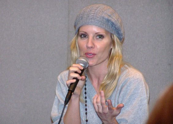 Irish American actress Emma Caulfield.
