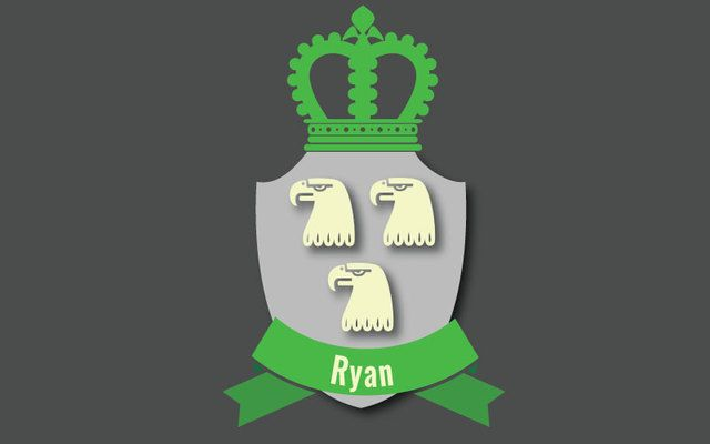 Here are some interesting facts about the Irish last name Ryan, including its history, family crest, coat of arms, and famous clan members.