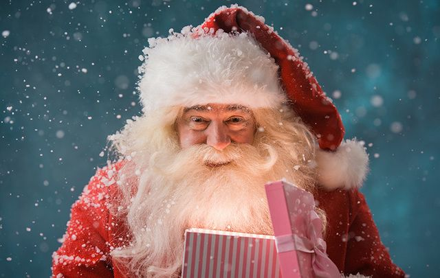 Ho ho ho and happy St. Nicholas Day 2018! Irish historians say there is evidence St. Nicholas\' remains were brought to Ireland.