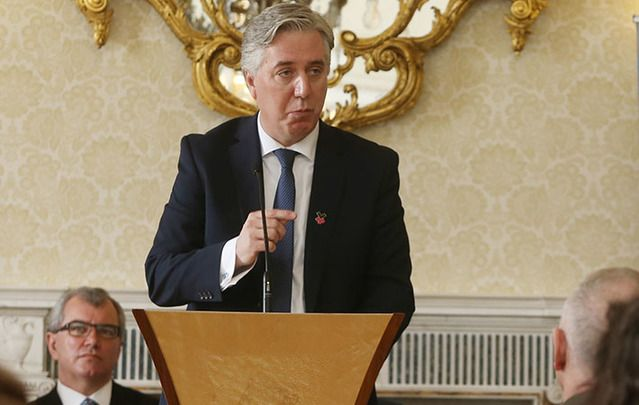 John Delaney, Head of the Irish Football Association, had already fled when the Brazilian judges had ordered he be detained.