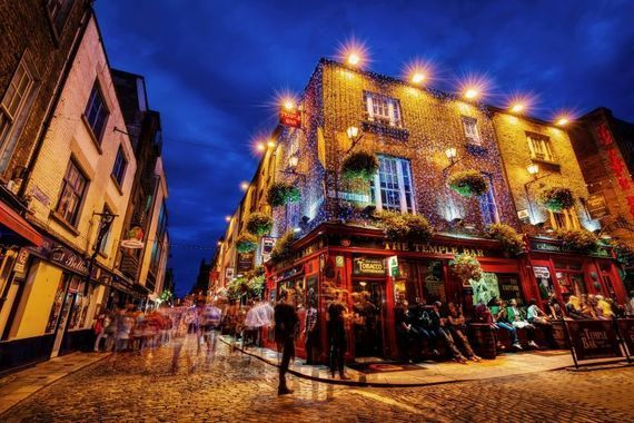 Temple Bar is to be avoided in normal times.