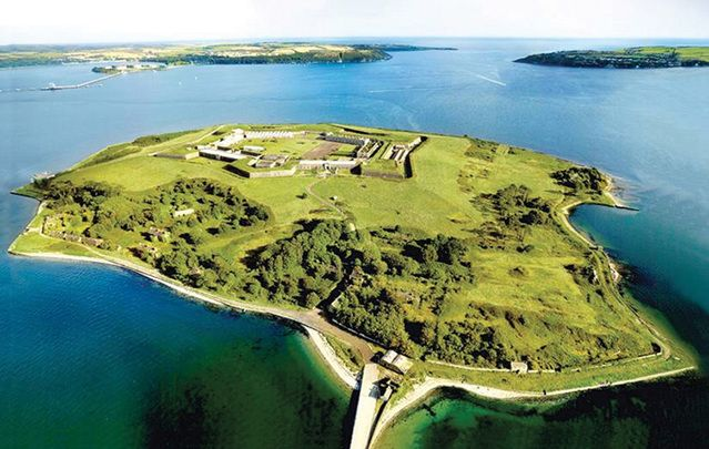Once a monastery, then a prison, Cork Harbor's Spike Island now attracts thousands of visitors a year.