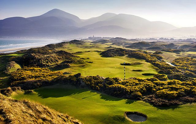 "Royal County Down: A golf vacation to dream of - ""Rugged, windblown"" Golf Digest says ""there is no lovelier place in golf."""
