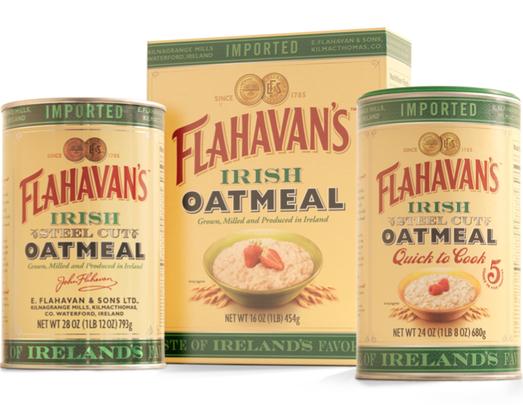 Flahavan\'s Irish Oatmeal: From oatmeal with Irish mist to baked Camembert and oat cakes, there's plenty of ways to enjoy Flahavan's.
