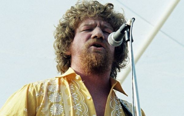 Luke Kelly of The Dubliners.