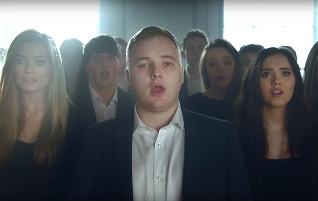 UCD Choral Scholars' performance of Mo Ghile Mear will send shivers down your spine.