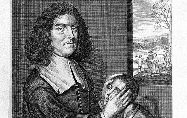 Valentine Greatrakes, born in Waterford, was an Irish faith healer defended by the King of England.