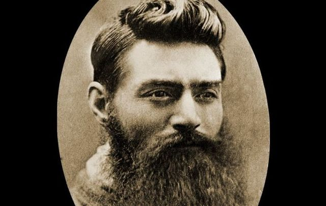 Ned Kelly on November 10, 1890, the day before his execution.