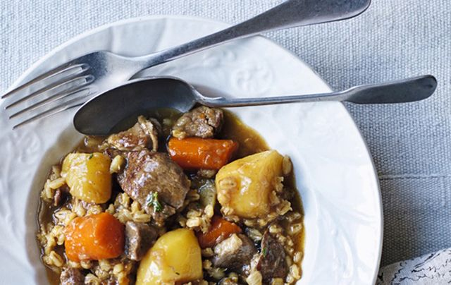 Clodagh McKenna's Irish lamb stew with pearl barley.